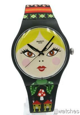 New Swatch Originals RUSSIAN BEAUTY Muliticolor Women Watch 41mm SUOB137 $80