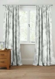 Next toile curtains 228x72