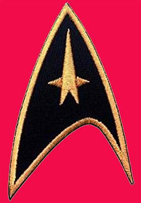 Star Trek Command Starfleet Uniform Cosplay IRON ON Patch -