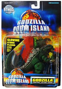 TRENDMASTERS-GODZILLA-DOOM-ISLAND-GODZILLA-GREEN-FIGURE-1997-VINTAGE