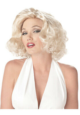 Movie Star Halloween Costumes (Marilyn Monroe Movie Star Halloween Costume Wig)