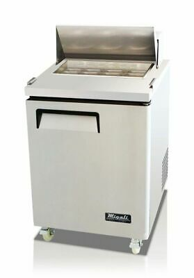 New Migali 27 Big-top Sandwich Prep Table Cooler C-sp27-bt Free Shipping