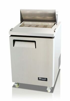 New Migali 27 Sandwich Prep Table Cooler C-sp27-hc Free Shipping