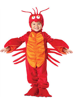 Brand New Lil' Lobster Toddler Halloween Costume - Lobster Halloween Costume Toddler
