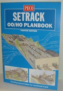 Peco 00/H0 Setrack 00 Planbook - Fourth Edition - New Edition!!