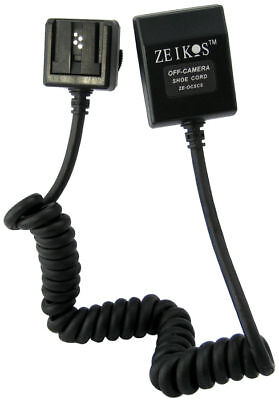 Dedicated i-TTL Off Camera Shoe Cord For Nikon Camera Flash for sale  Shipping to India