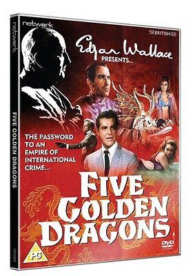 Wallace Golden (Edgar Wallace Presents FIVE GOLDEN DRAGONS. New sealed DVD.)