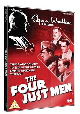Edgar Wallace Presents - The Four Just Men (Dvd, 2013)