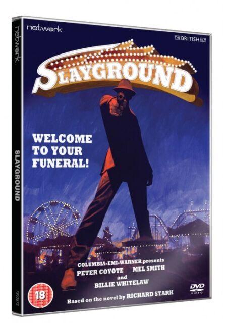 SLAYGROUND. Peter Coyote, Billie Whitelaw. New sealed DVD.