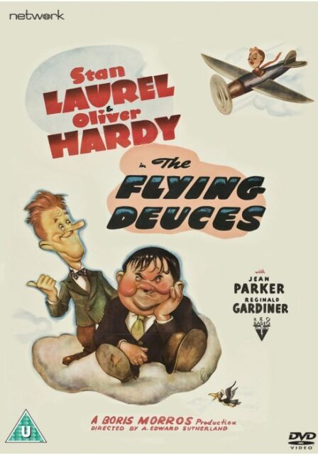 THE FLYING DEUCES. Laurel and Hardy. New sealed DVD.