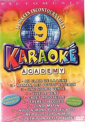 KARAOKE-  CHANSONS ENFANTS -  DVD