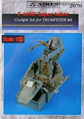 Aires 1/32 F-100D Super Sabre Cockpit Set for Trumpeter kit 2070