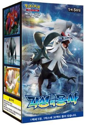"Pokemon cards Sun & Moon""Awakened Heroes""Booster Box(30 pack)/ Korean Ver/SM4S"
