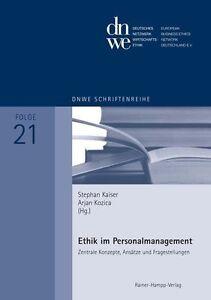 Ethik im Personalmanagement