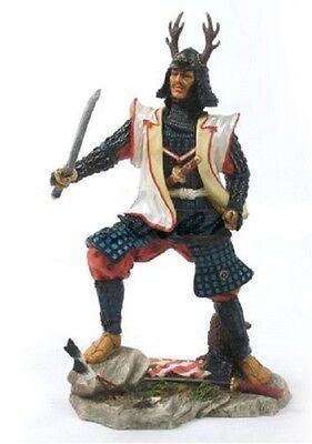 "10"" Japanese Samurai Fighting Sword Collectible Statue Figurine Warrior Oriental"