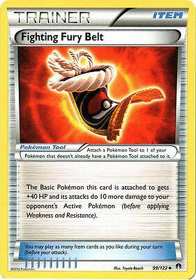 Pokemon: 1x Fighting Fury Belt - 99/122 - Uncommon - NM-Mint XY BREAKPoint