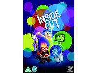 BNIP SEALED DISNEY INSIDE OUT DVD
