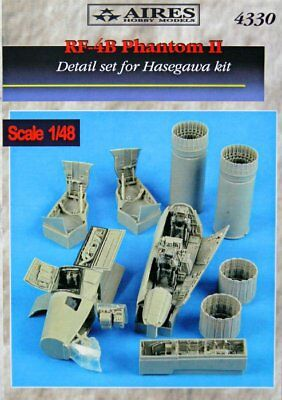 Aires 1/48 RF-4B Phantom II Detail Set for Hasegawa kit 4330