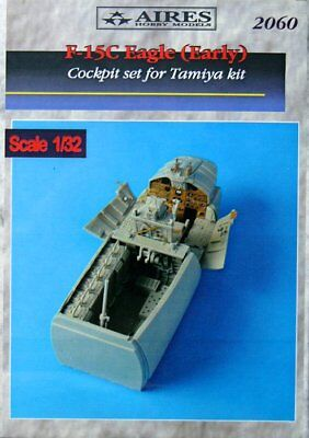 Aires 1/32 F-15C Eagle Early Cockpit Set for Tamiya kit 2060
