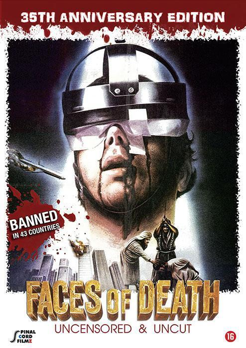 Film Faces of Death - 35th anniversary edition op DVD
