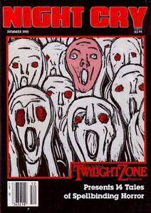 NIGHT CRY Rod Serling's TWILIGHT ZONE Magazine Summer 1985