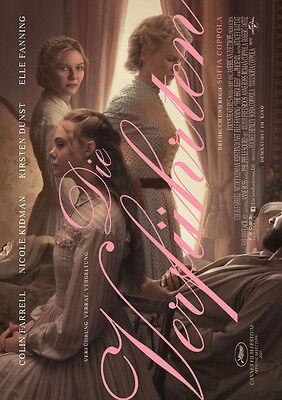 DIE VERFÜHRTEN - Orig.Kino-Plakat A1 - Nicole Kidman, Kirsten Dunst -Gerollt
