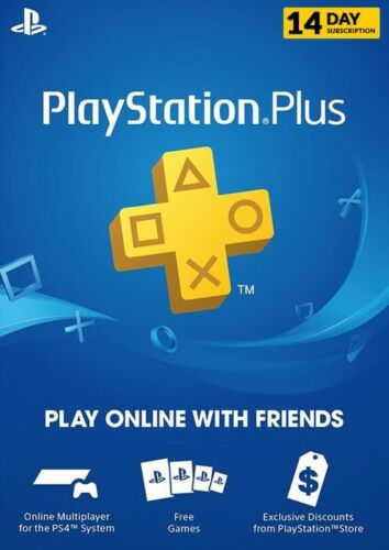 Sony Playstation Psn Plus US 14 Day Trial INSTANT EMAIL DELIVERY See Description