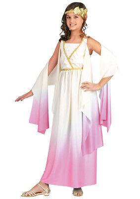 Children's Greek Goddess Halloween Costumes (Brand New Athena Greek Goddess Child Halloween)
