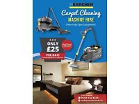 Carpet Cleaning Machine Hire - New High Spec Equipment - Cheapest in Reading !