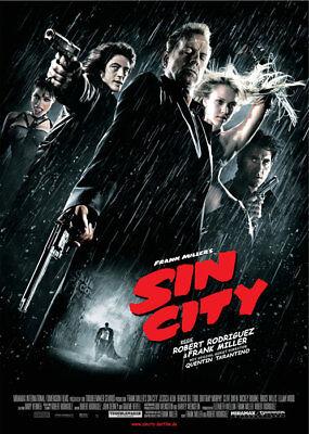 FILMPLAKAT - Robert Rodriguez & Frank Miller´s SIN CITY - DIN-A1 59 cm x 84 cm