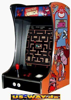 G-288 D Classic Arcade TV Video Spielautomat Thekengerät,  412 Spiele