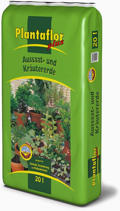 Plantaflor Aussaaterde Kräutererde Anzuchterde Blumenerde Anzucht Aussaat