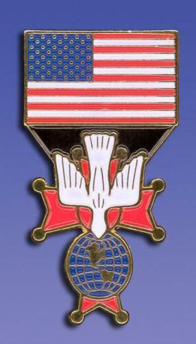 NEW Knights of Columbus 4th Degree US Flag Pin Regalia - FREE Ship on additional