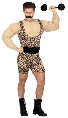 Starker Muskelmann Herrenkostüm - Muskel Mann Kostüm