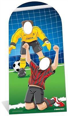 World Football Sport Event Cardboard Cutout Stand In. Great for all Sport - Football Cardboard Cutouts