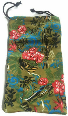MAUI JIM LARGE TROPICAL CLEANING CLOTH POUCH (Maui Jim Cleaning)