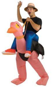 Adult Inflatable Ostrich Costume + Safari hat $40