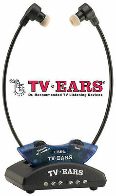 TV Ears 10341 2.3 System Wireless Headset System Complete Brand New In Package