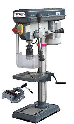 Optimum Tischbohrmaschine OPTIdrill B 16 - Set mit Maschinenschraubstock