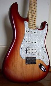 Pearly Gates USA Fender Stratocaster Hot Rodded Bundall Gold Coast City Preview