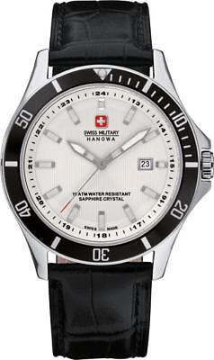 Swiss Military Hanowa Navy Line Flagship Herrenuhr 6-4161.2.04.001.07 Analog  Le 2 Line Analog