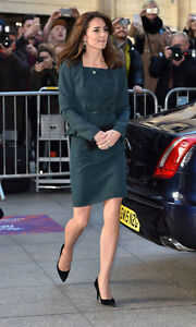 L.K. Bennett Teal Green Davina 2 Shift Dress UK 18 US 14 BNWT