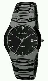 2 Brand New Accurist Ceramic Watches