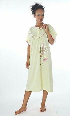 Damen-Nachthemd (DF252+mint) Gr.: 46-48 ()