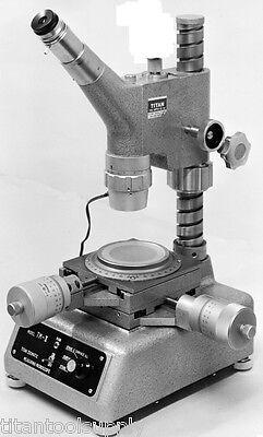 Titan Tm-ii Zoom Toolmakers Measuring Microscopes High Quality Japanese Optics