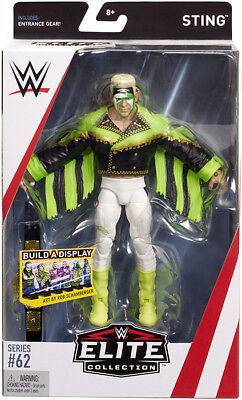 Surfer Sting - WWE Elite 62 Mattel Toy Wrestling Action Figure
