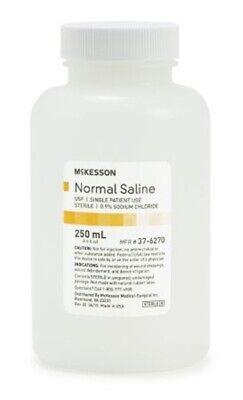 Mckesson Irrigation Solution Sodium Chloride 0.9 Solution 250 Ml -each