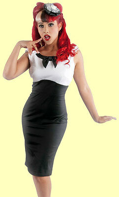 Steady Clothing - Black & White Katy Wiggle Dress. New With Several -