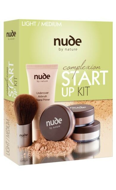 Nude by Nature Complexion Start Up Kit - Light/Medium