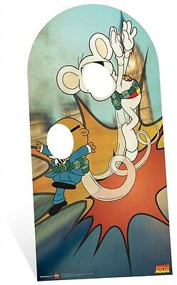Danger Mouse with Penfold Stand InCardboard Cutout - Great for party photos (Photo Stand Ins For Parties)